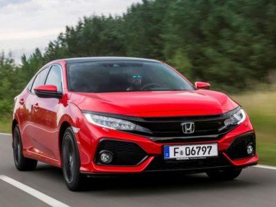 La gamme Honda Civic 2020 a fait l'objet d'une mise à jour de mi-cycle