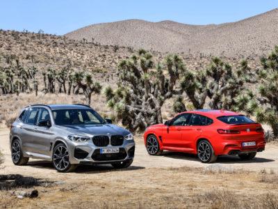 Les nouveaux modèles de compétition BMW X3 M et BMW X4 M