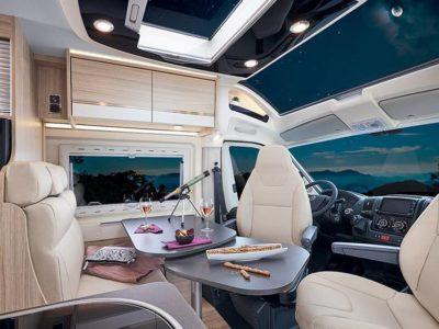 L'équipement et le confort d'un van aménagé haut de gamme