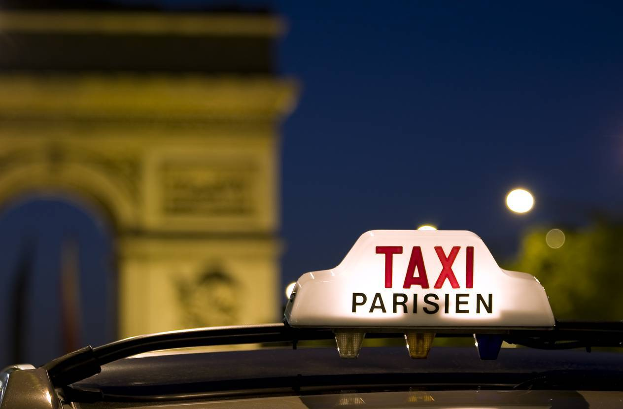 moyen transport préféré taxi paris