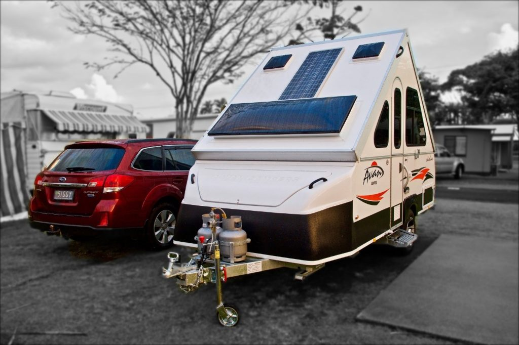 attelage camping-car