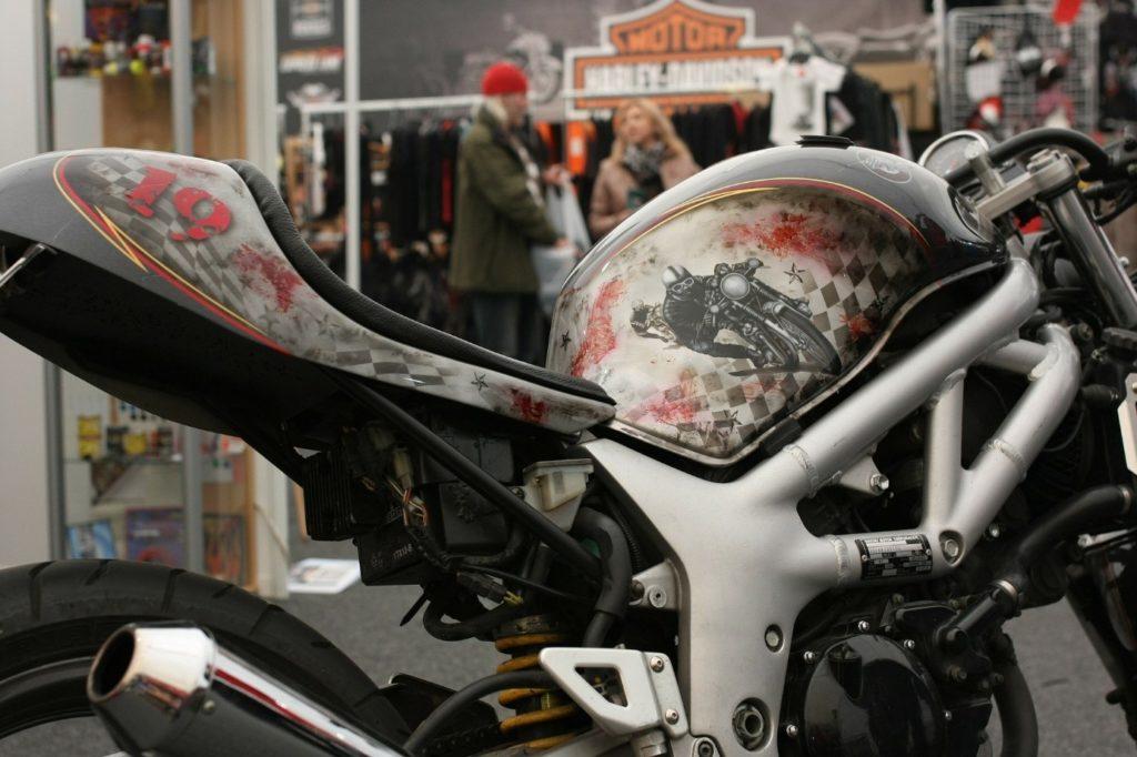 moto avec couleur personnalisé