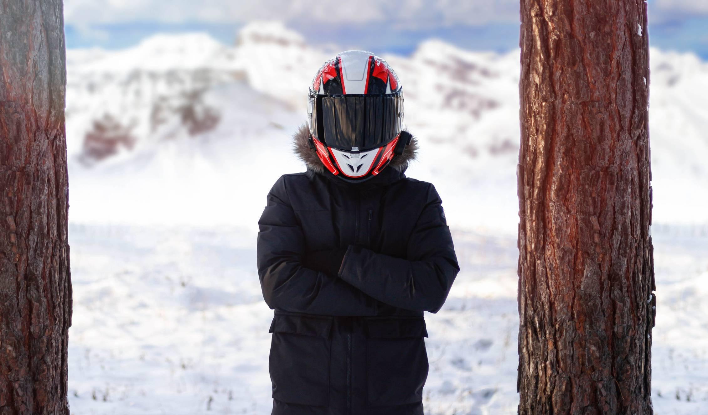 casque moto hiver