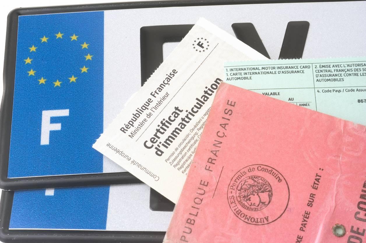 carte grise moto certificat d'immatriculation