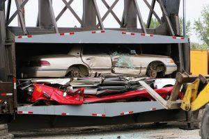 destruction voiture