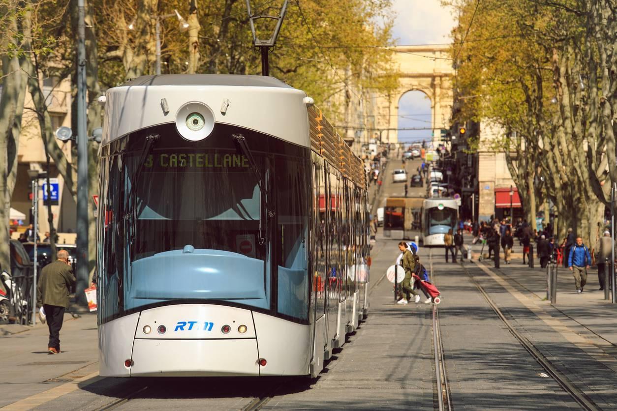 rue circulation Marseille