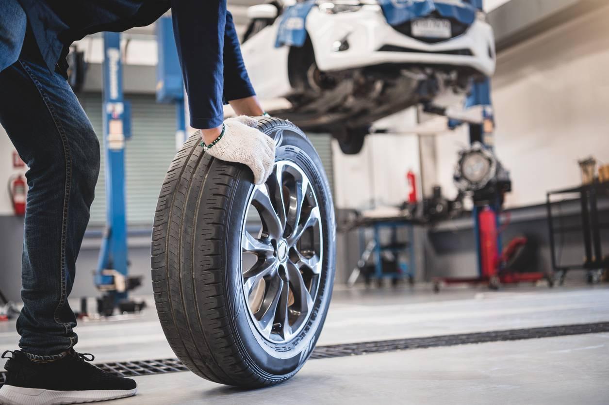 pneus véhicule